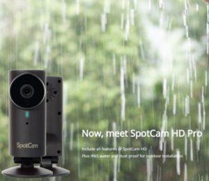 SpotCam HD – un webcam pentru cloud