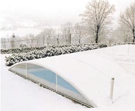 Cum se protejeaza piscina iarna?