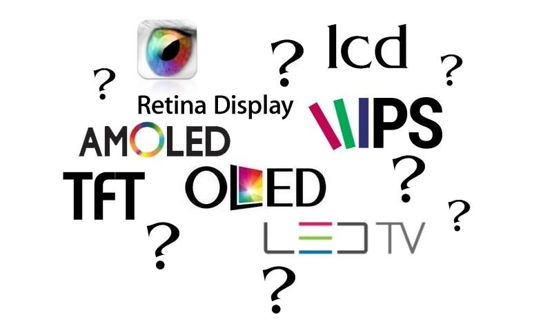 Cele mai cunoscute tipuri de displayuri