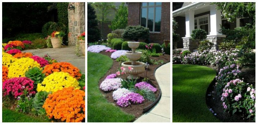 Idei de amenajare a gradinii cu flori