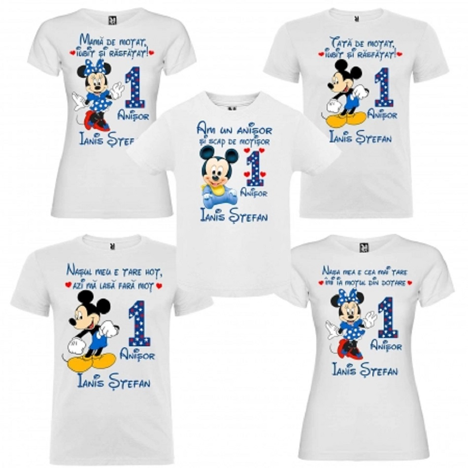 Tricouri personalizate pentru copii